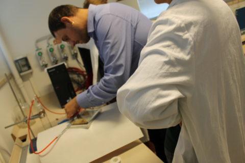 inserimento Gas Inerte Chartula